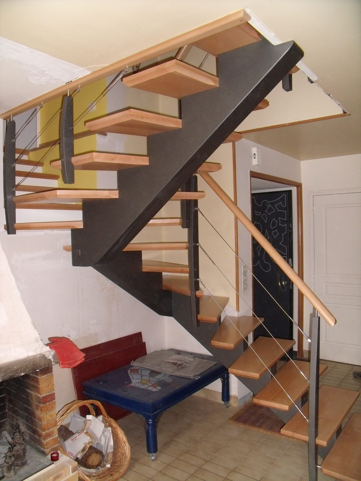 escalier glotin trendy escalier glotin with escalier glotin perfect beautiful escalier salon. Black Bedroom Furniture Sets. Home Design Ideas