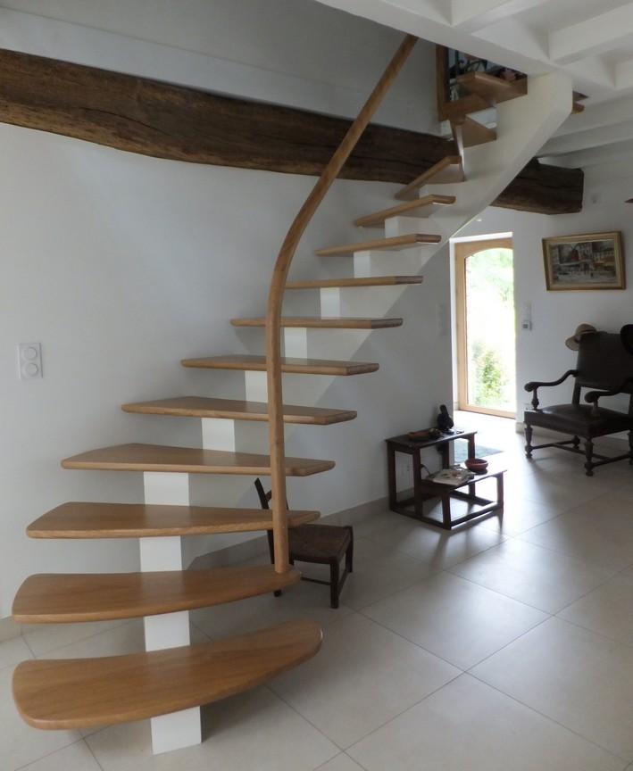 Recouvrir escalier beton avec bois affordable escalier for Recouvrir escalier en bois