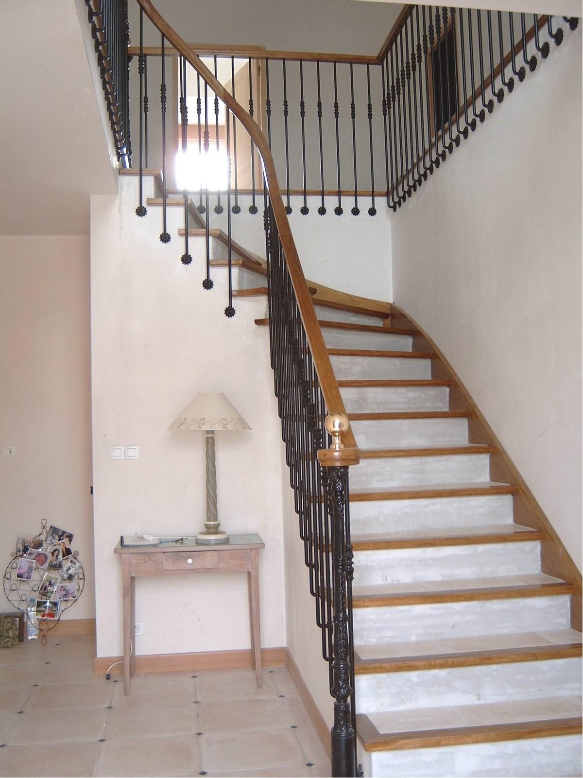 Rampe Sur Escalier Carrelé Atelier Glotin à Pontchateau