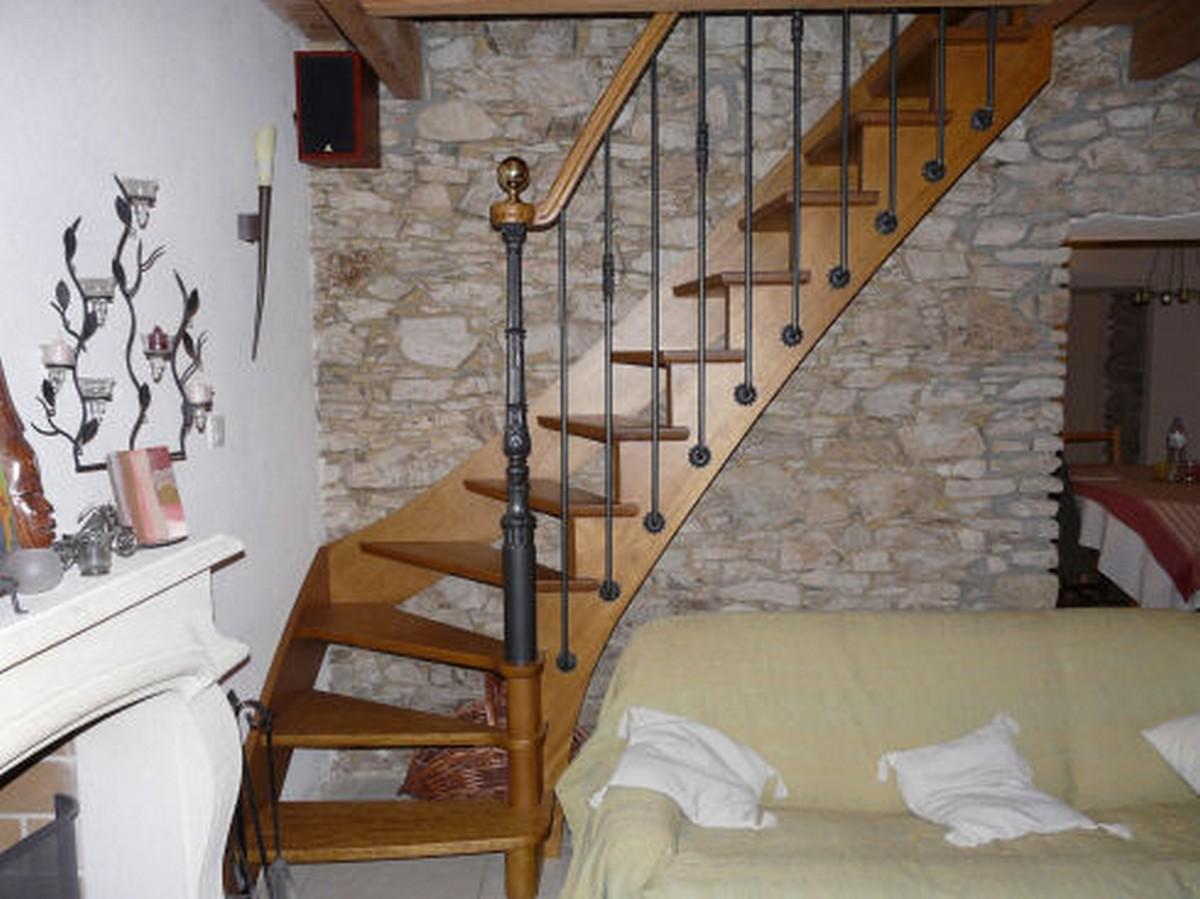 Escalier Sans Contremarche escalier à l'anglaise - atelier glotin à pontchateau
